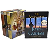 John Grisham CD Audiobook Bundle #2: The Associate; The Confession; The Litigators; The Racketeer
