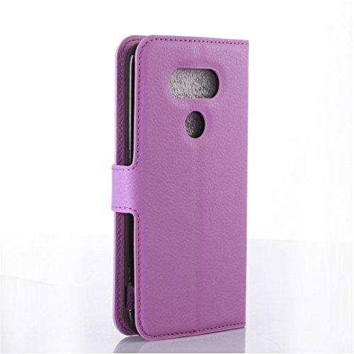 Funda LG G5,Manyip Caja del teléfono del cuero,Protector de Pantalla de Slim Case Estilo Billetera con Ranuras para Tarjetas, Soporte Plegable, Cierre Magnético H