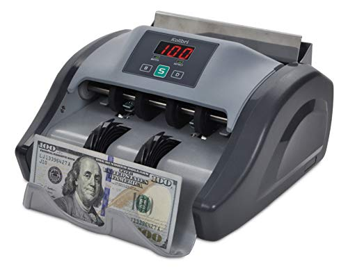 - Kolibri Money Counter with UV Detection and 1-year Warranty