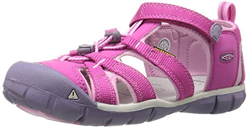 KEEN Kids' Seacamp II CNX Sandal, Very Berry/Lilac Chiffon, 9 M US Toddler