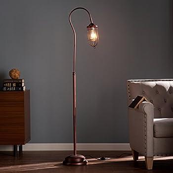 Contemporary/Reading/Modern Steel Taylon 100W Floor Lamp (OS2215TL). 6 Feet