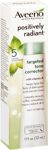 Aveeno Positively Radiant Targeted Tone Corrector, 1.1 Fl. O