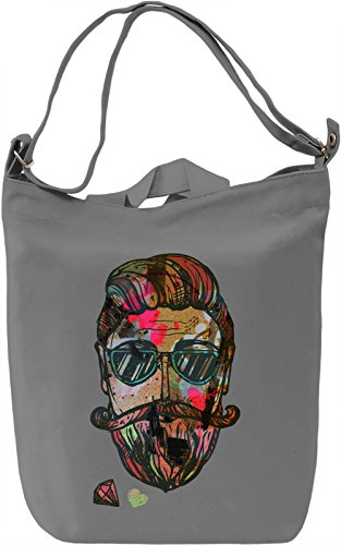 Hipster Love Borsa Giornaliera Canvas Canvas Day Bag| 100% Premium Cotton Canvas| DTG Printing|