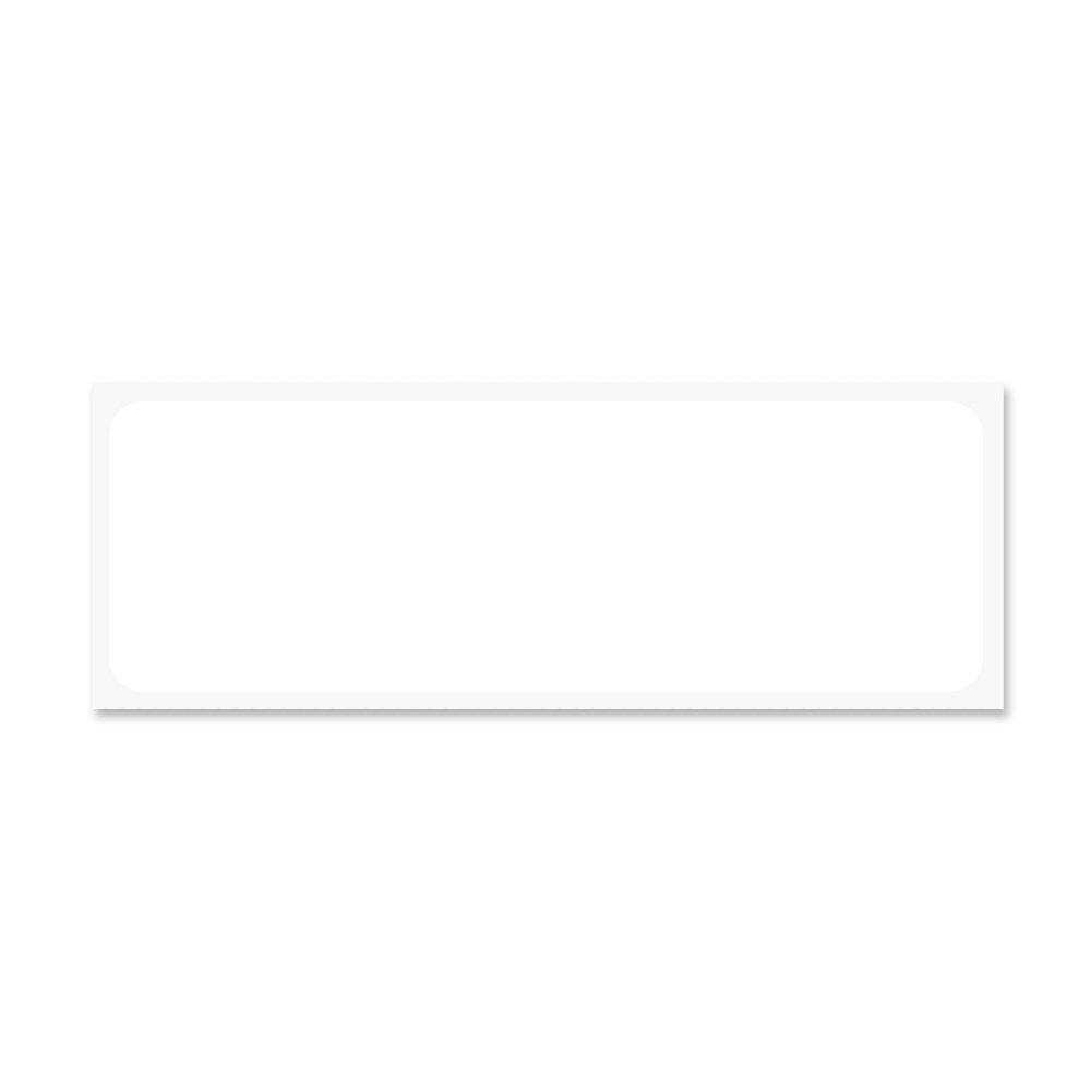 PDC Healthcare WBLBDT48 Label Directional Thermal, 1'', 3'' x 1'', White (Pack of 10400)