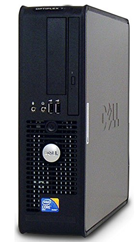 Dell Optiplex Business Computer, Intel Dual Core 2 Duo 1.86GHz Processor, 4GB DDR2 RAM, 160GB HDD, DVD, Gigabit Ethernet, Windows 10(Certified Refurbished) by Dell (Image #2)