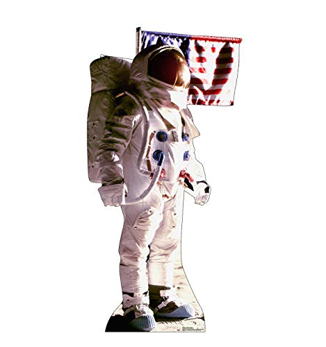 Advanced Graphics Astronaut on The Moon Life Size Cardboard Cutout Standup from Advanced Graphics