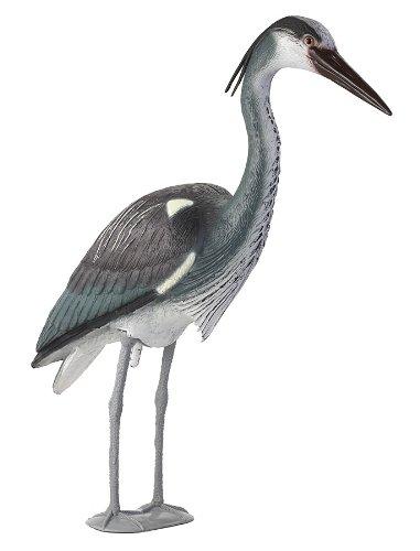amazon com tanglefree great blue heron decoy hunting decoys