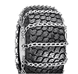 2 Link Spacing TIRE CHAINS ( 23x8.5x12 ) for HUSQVARNA / ...