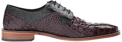 Stacy Adams Men's Garelli Oxford Black/Oxblood with paypal sale recommend clearance explore footaction cheap price sale release dates 9KJMveI