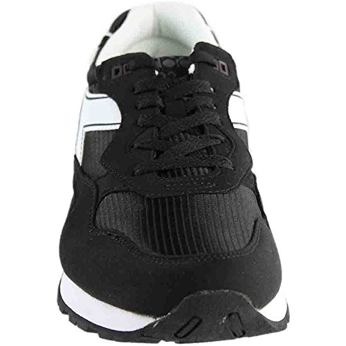 Diadora Mens N92 Skateschoen Zwart / Wit