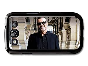 AMAF ? Accessories George Michael Smiling Portrait with Sunglasses and Black Shirt case for Samsung Galaxy S3
