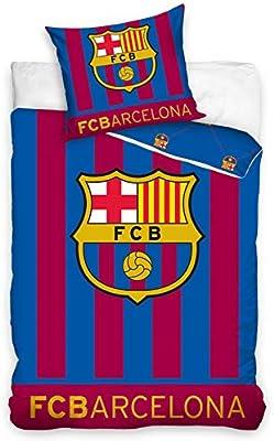 FC BARCELONA SINGLE DUVET COVER SET EUROPEAN SIZE 100/% COTTON GLOW IN THE DARK