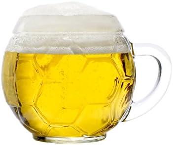Stölzle Oberglas - Jarra de cerveza con forma de balón de fútbol ...
