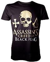 Assassin's Creed IV - Black Flag - T-Shirt Logo noir