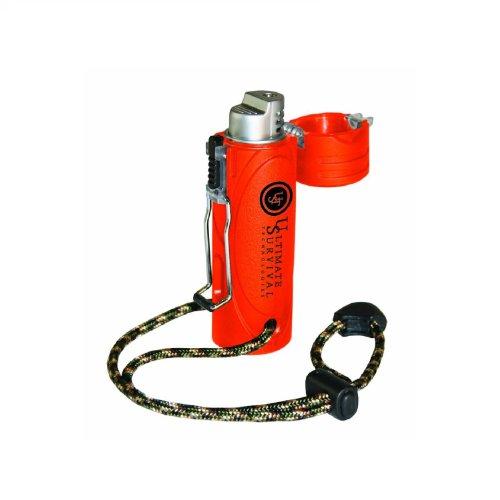 UST Trekker Stormproof Lighter, Blaze Orange by UST