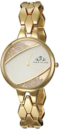 ae2f0d828648 Paris Hilton PHT 1010 A Reloj Casual Analógico de Moda para Dama