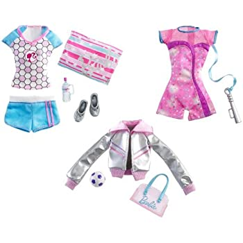 Barbie I Can Be Sports Star Fashion Pack