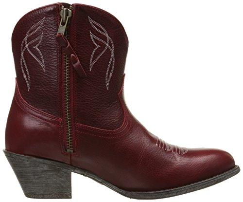 Stiv Womens Boot Da Lavoro Per Donna, Naturalmente Marrone Scuro, 10 B Us Rosso Rosato
