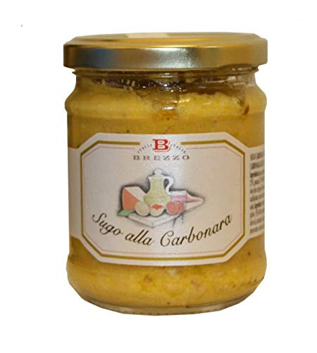 Brezzo - Salsa artesana alla carbonara 180gr.