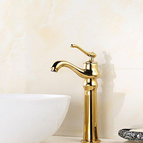 MMYNL TAPS MMYNL Waschtischarmatur Bad Mischbatterie Badarmatur Waschbecken Antike Antik Gold Verchromt Badezimmer Waschtischmischer
