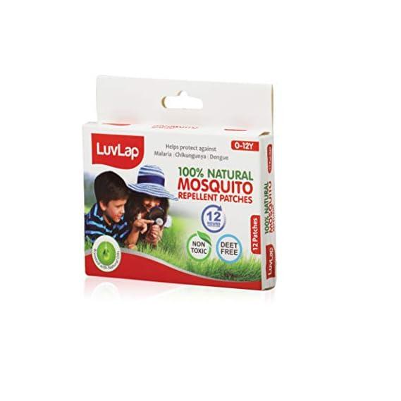 LuvLap Mosquito Repellent Patch 12 pcs