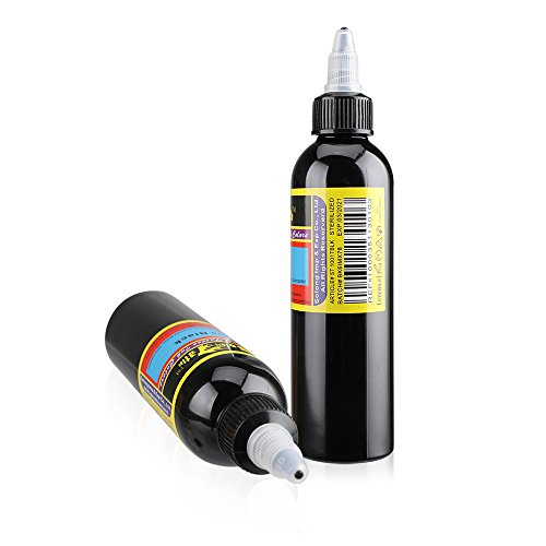 Solong Tattoo Ink True Black Tattoo Pigment for Shading and Lining ...