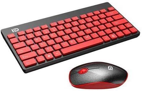 Compatible for 1500 Fashion Mini Multimedia Wireless WiFi Desktop PC Office Keyboard /& Mouse Set