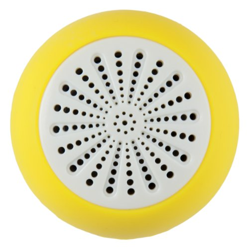 Bluetooth Waterproof Yellow Speaker