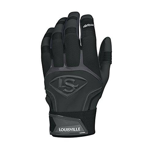 Louisville Slugger Prime Adult Batting Gloves - X-Large, Black