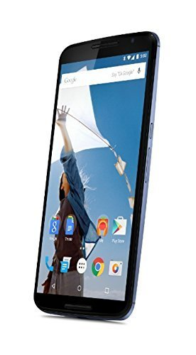 Motorola Nexus 6 GSM Unlocked Cellphone, 32GB, Midnight Blue (Certified Refurbished)