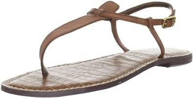Sam Edelman Women's Gigi Flat Sandals, Saddle, 4 B(M) US