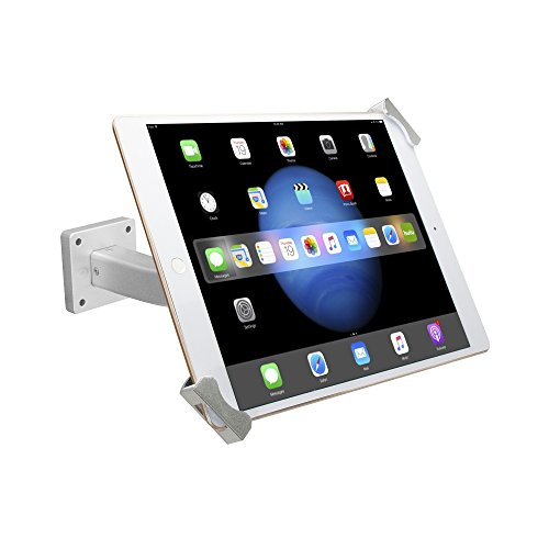 CTA Digital Security Tabletop & Wall Mount for 7-13 Inch Tablets/iPad Pro 9.7, 10.5, 12.9/iPad (2017)/iPad mini/Surface Pro 4 by CTA Digital