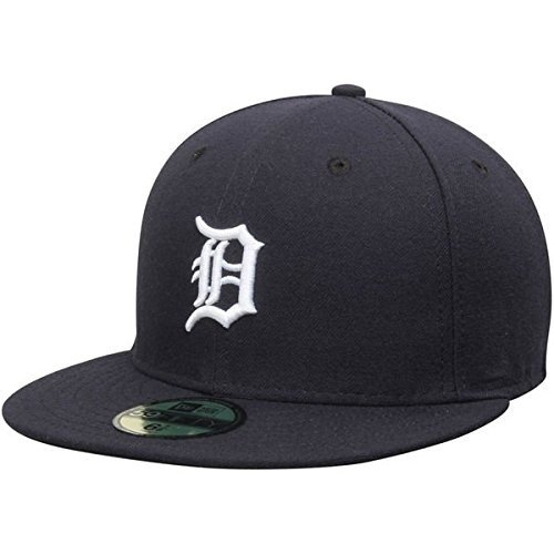 (New Era Detroit Tigers MLB Authentic Collection 59FIFTY On Field Cap NewEra 59Fifty: 7 5/8)