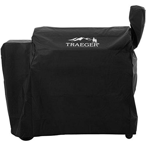Traeger Allwetter-Abdeckhaube für Pro Series 34 / Century 34, lang, schwarz mit Logo