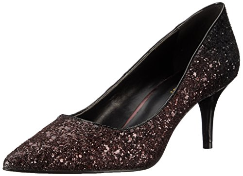 Nine West Margot Fibra sintética Tacones Dark Red/Black