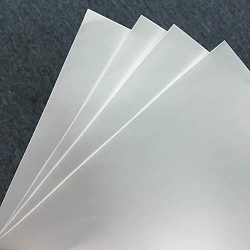 Printer Parts 100 Sheets for Sublimation Machine Heat Transfer Machine T-Shirt Clothes germent Cotton A4 Sublimation Paper Light Color by Yoton (Image #2)