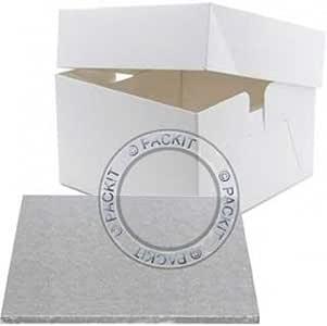Base y caja para pastel de boda o cumpleaños (diámetro: 35,56 cm): Amazon.es: Hogar
