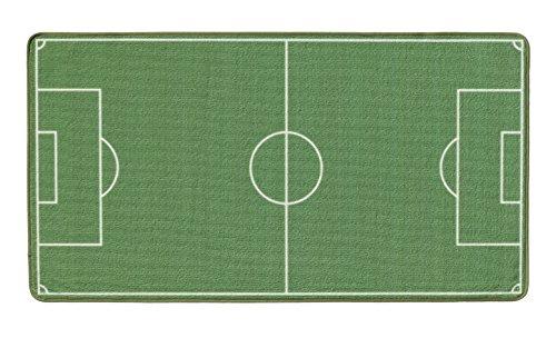 Böing Carpet FU-3603 Fußball Teppich, 100 x 160 cm
