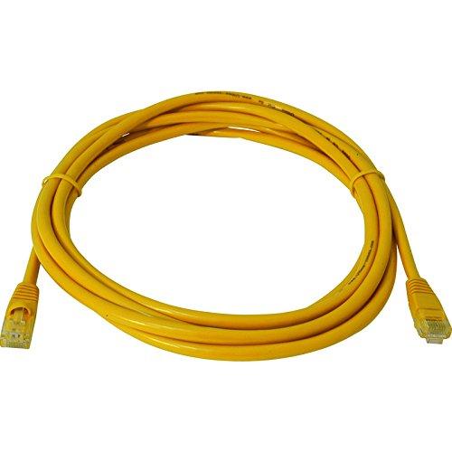 2,0 m CAT5E UTP cable amarillo