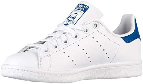 new style 4d9b3 bcab4 Adidas Stan Smith White/Blue Shoes: Amazon.com