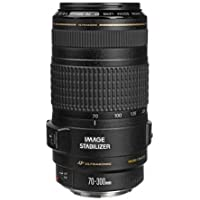 Canon EF 70-300mm f/4-5.6 IS USM Telephoto Autofocus Zoom Lens with 3-Stop Image Stabilizer, EMD, Super Spectra Lens Coatings and Lens Element Shaping for Canon EOS SLR Cameras