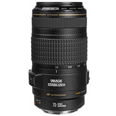 Canon EF 70-300mm f/4-5.6 IS USM Telephoto Autofocus Zoom Lens with 3-Stop Image Stabilizer, EMD, Super Spectra Lens Coatings and Lens Element Shaping for Canon EOS SLR Cameras (Lens Canon 300 Is)