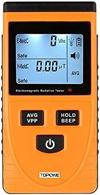 TopOne EMF Meter Electromagnetic Field Radiation Detector