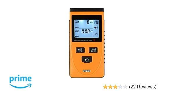 TopOne EMF Meter Electromagnetic Field Radiation Detector Handheld