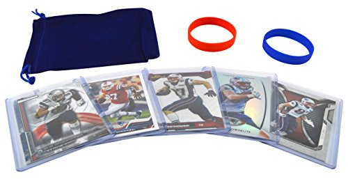 Rob Gronkowski  5  Assorted Football Cards Bundle   New England Patriots Trading Cards