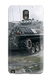 Tpu Fashionable Design Leopard 1 World Of Tanks Rugged Case Cover For Galaxy Note 3 New 6365690K36579621