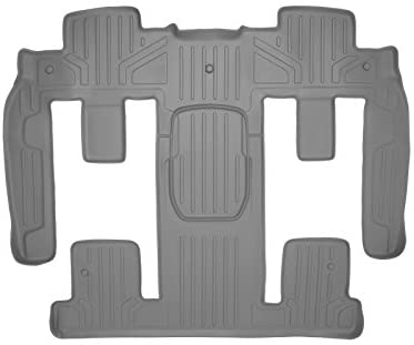 MAXLINER 2nd Row Gray Floor Mat Set Compatible With 2009-2017 Chevy Traverse/2008-2017 Buick Enclave/07-2010 Saturn Outlook/2007-2016 GMC Acadia/2017 GMC Acadia Lmtd (Old Body )(2nd Row Bucket Seats)