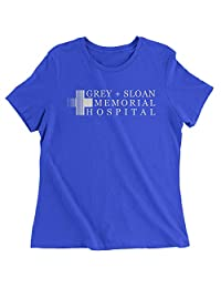 FerociTees Grey Sloan Memorial Hospital Womens T-Shirt