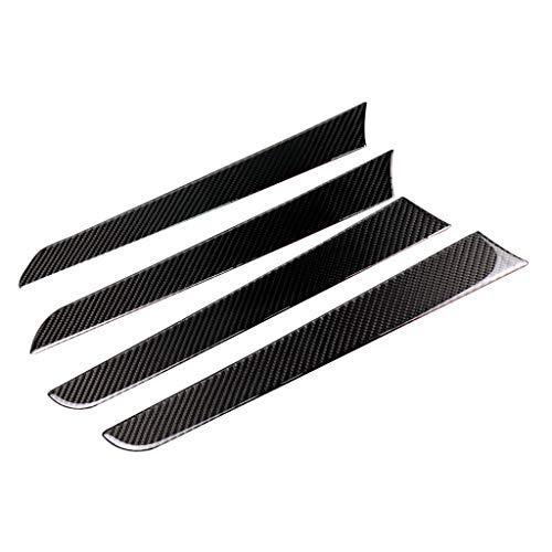 B Blesiya Real Carbon Fiber Copilot Dashboard Panel Cover Trim Audi A4 B8 09-16