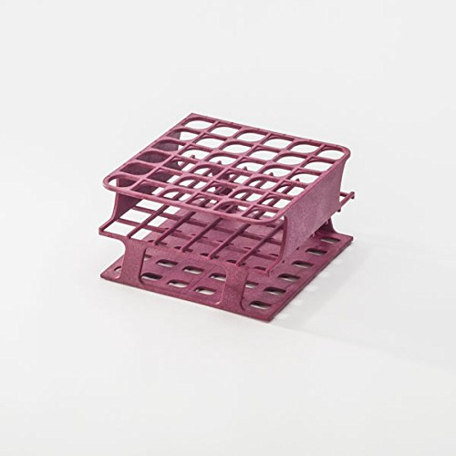 Magenta Half-Size Freezer Rack for 16mm Test Tubes 1 each